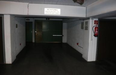 Tor zur Tiefgarage